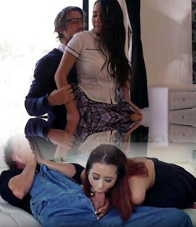 EroticaX Cum On Big Orb School Girl