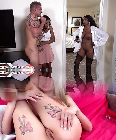Diamond Jackson & Indigo Vanity & Tony D in My White Step-father Part Four - DigitalPlayground