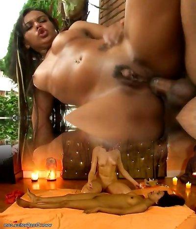 Horny brazilian gets ass stuffed