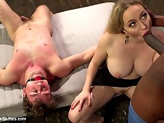 Goddess Aiden Starr subjects cocky jock to a ruthless attitude adjustment session. Watch the...