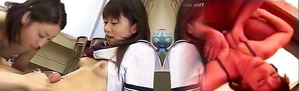 Futanari Teen at School!
