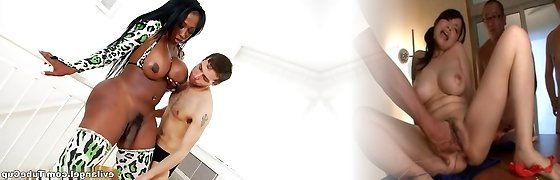 Hottest superstars in Fabulous Shemale, HD adult video