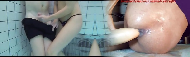 Teenies Give Hand Job and Blowjob in the public Pool