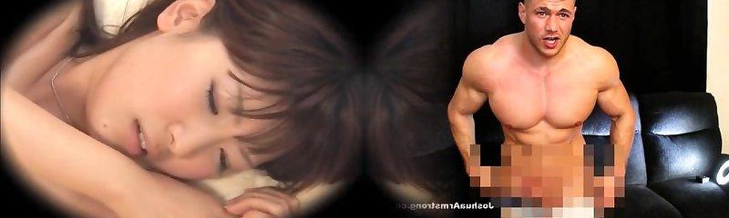 Frolic Jap dicked and creampied in voyeur massage flick