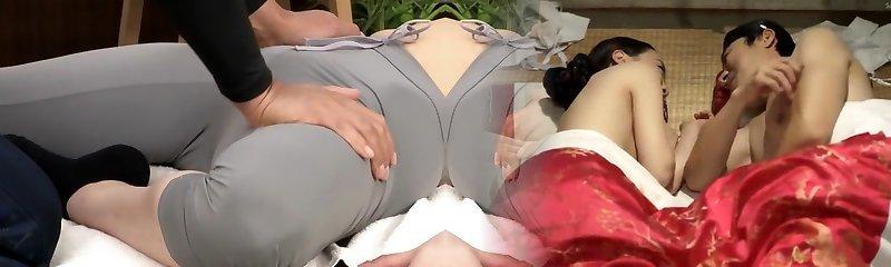 Best Japanese slut in Ultra-kinky Fetish, Rubdown JAV scene