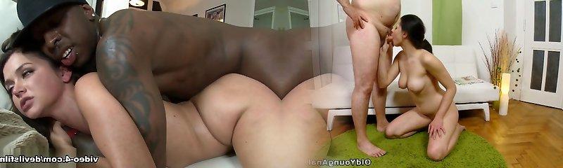 Incredible pornstars Allie Haze, Jon Jon in Astounding Porn Industry Stars, Interracial porn scene