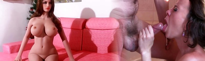 Huge tits romp doll, blowjob anal creampie desires