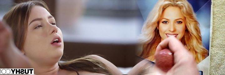 TUSHY Hot Baby Sitter Taylor Sands Enjoys Rectal