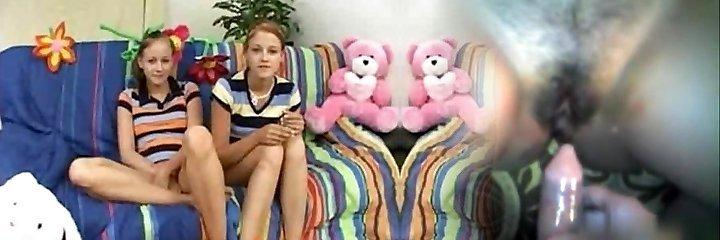 Twin Nubile Babysitters Earn A Bonus