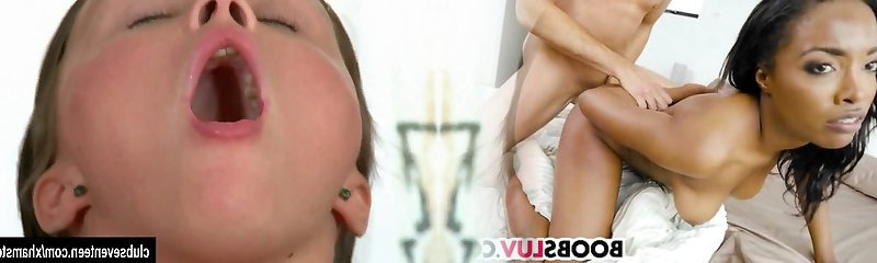 Pigtailed schoolgirl plaything pussy upskirt