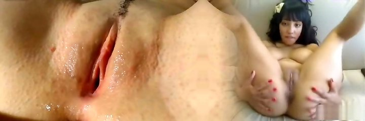 Tight humid shaved pussy fingering doggy cameltoe