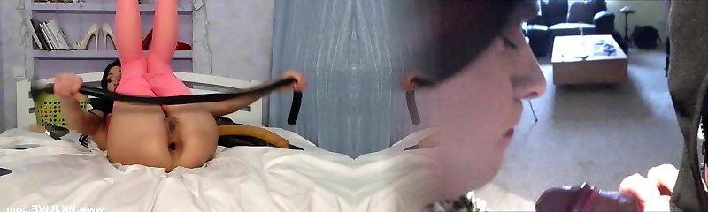 HKJLIVE web cam show deep 99cm insertions Hotkinkyjo