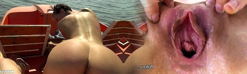 Public Pickups - Uber-sexy sun-tanning Czech pulverized on a boat