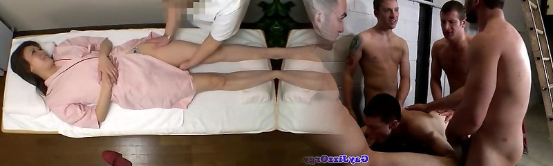 Amazing spycam clip with a hot babe on a massage therapy