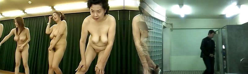 Japanese Milfs super-naughty piss party