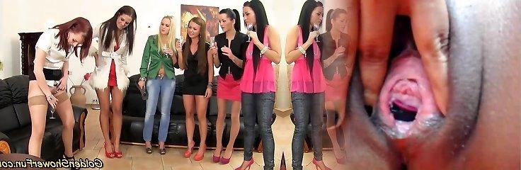 Lesbian fetish group piss