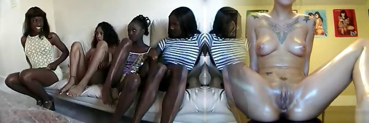 4 shades of chocolate damsels and 1 successful sum bitch