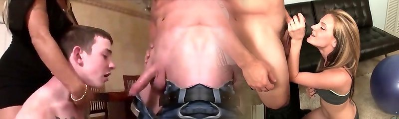 strapon and bisexual bang-out comp