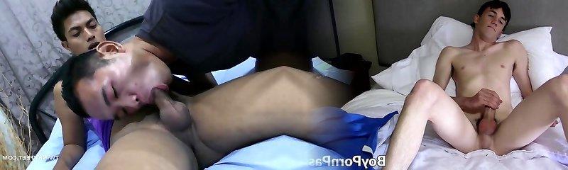 Asian Twink Foot Fetish Bareback Sex