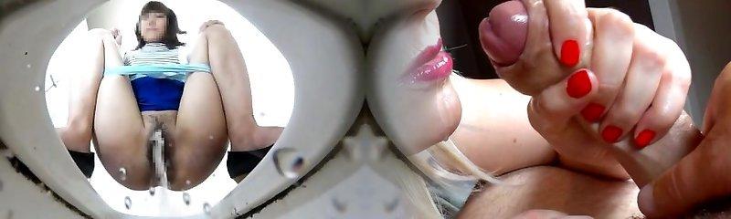 3 camera spy camera urinating shots