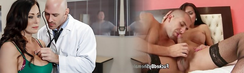 Reagan Foxx & Johnny Sins in My Husband Is Right Outside... - Brazzers
