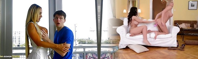 Stunning Milf Tegan James hankers the massive cock of teen boy