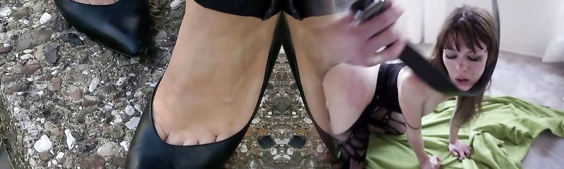 shoeplay in classic high-heeled shoes compilation