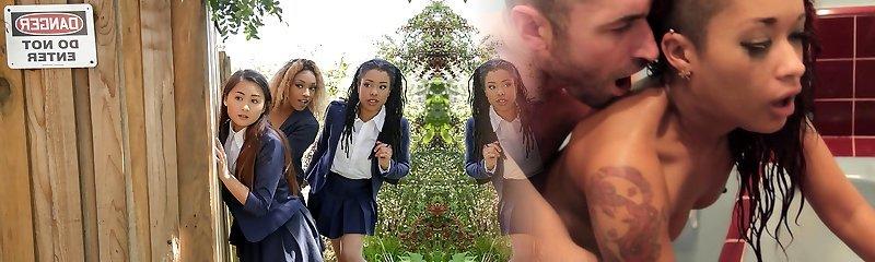 Kira Noir & Chad White in Penalizing The Pool Hopper - TeensLoveHugeCocks