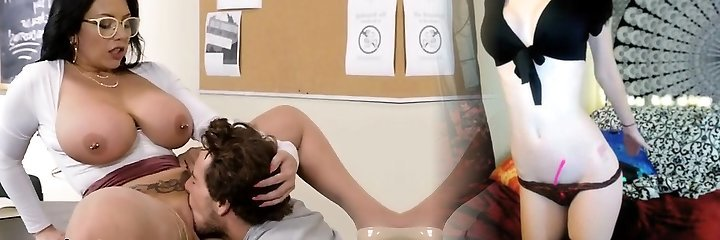 Hot Lecturer Sheridan Gets Pleasured By College Girl