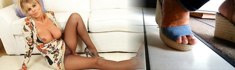 English cougar Gabby will make you drool over her saucy fanny