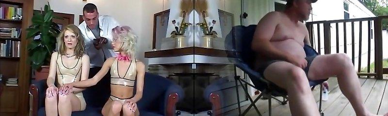 Hottest pornstar Cora Carina in unbelievable anal, threesomes hardcore movie