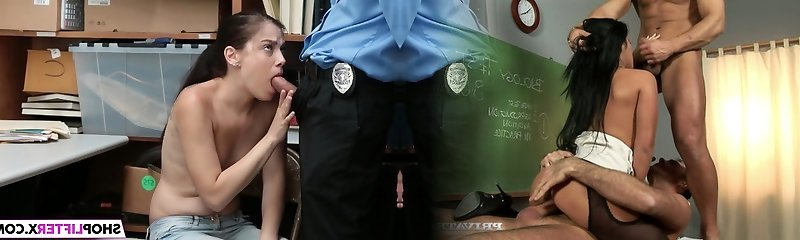 Shoplifter Bobbi Dylan Gets Tucked By The LP Officer