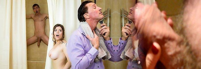 Lucia Enjoy & Danny D & Tony De Sergio in Taking It Two Times - Brazzers