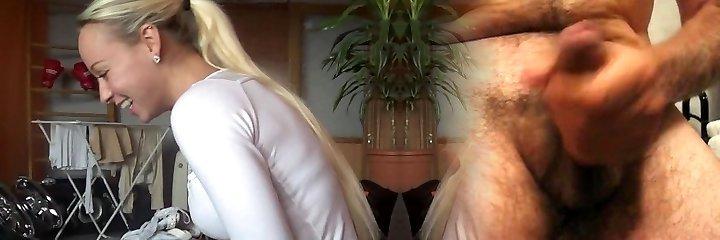 Unbelievable Hot Czech Blondie in Action