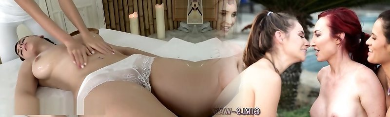 Sweetheart with massive boobs gets deep sensual fingering