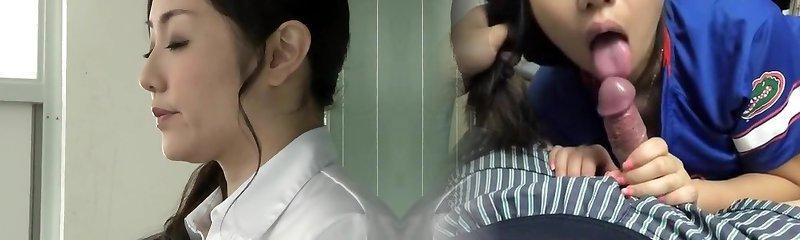 Teacher and lustful schoolgirls