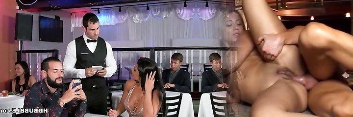 Xxl booty latina Rose Monroe cheats on her boring man