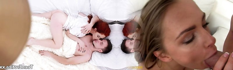 Youthfull Redhead Heather Dew and Her Boyfriend Have Sensual Sex