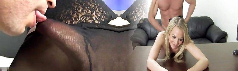Joyce Kelly fucked in tights