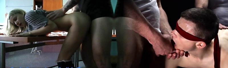PublicAgent Office secretary fucked by a fat cock in the toilet