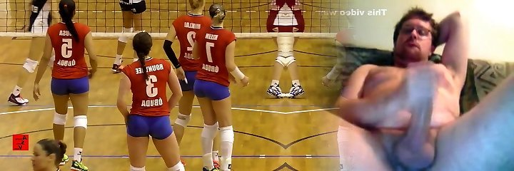 Amazingly Hot Volleyball Girl