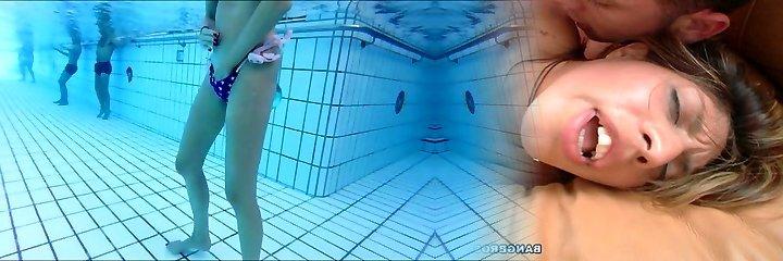 skiny mature milks underwater  me also !