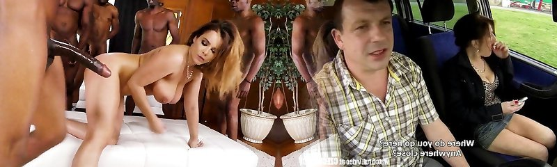 BBQ Party Turns BBC Gang-fuck - Natasha Nice