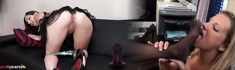 Steamy Spanish raven haired sex addict Liz Rainbow wanna flash you her shaved pussy