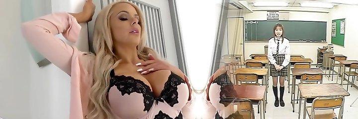 Cuckold boyfriend witnesses Nina Elle gets fucked by BBC