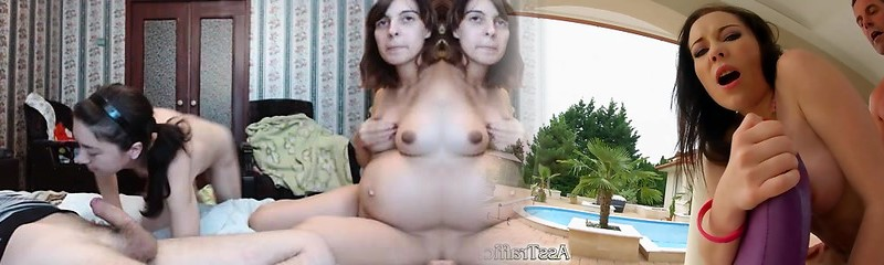 Pregnant first-timer wife homemade hardcore fellatio and fuck
