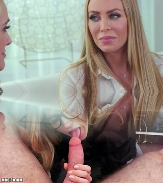 Hot Brandi enjoy & Nicole Aniston