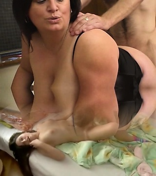 BBW Angel Nailed In Classroom