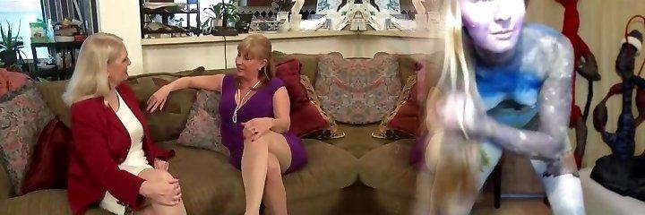 Nylon grannies lesbo boobs