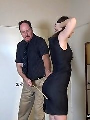 Episode 225 Secretary Alaina Fox Spanked and Caned